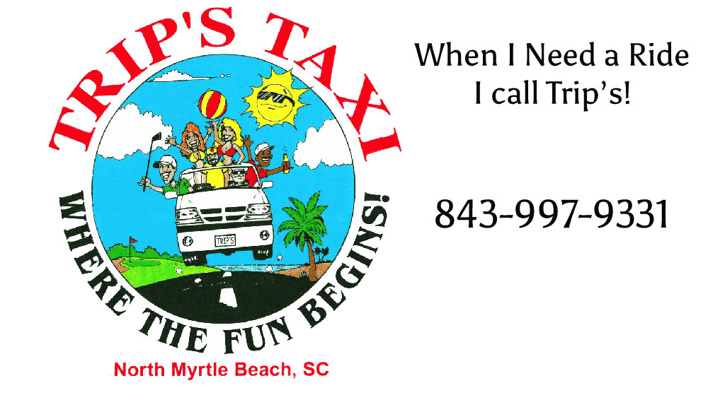 Trips Taxi in North Myrtle Beach 843-997-9331