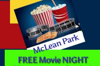 Free Movies at McLean Park