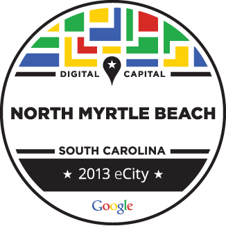 North Myrtle Beach Named Google eCity for SC