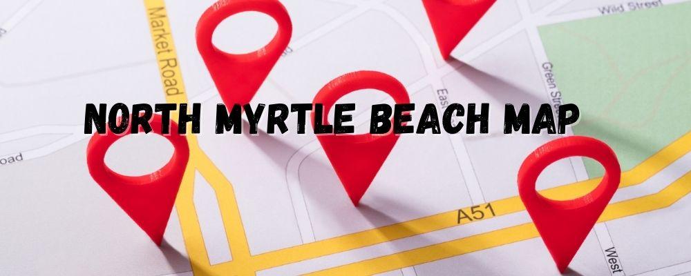 north myrtle beach map