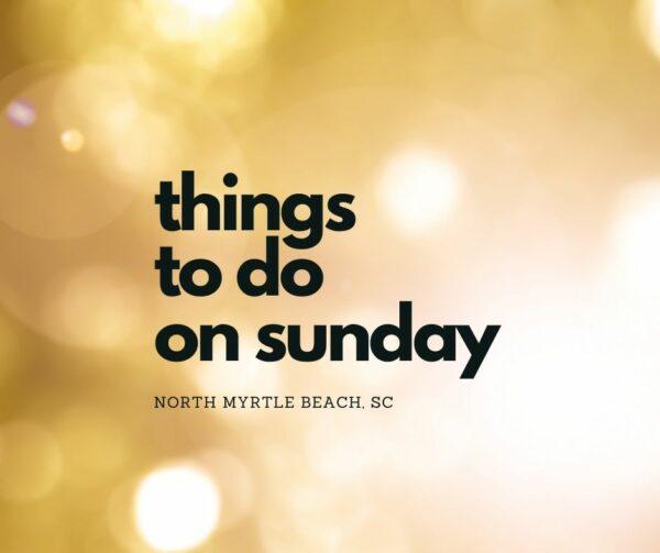 nmb sunday events