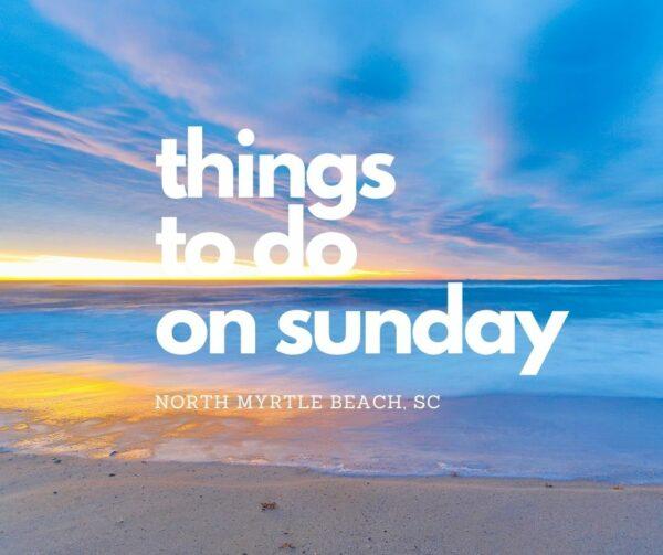 Sunday NMB Things
