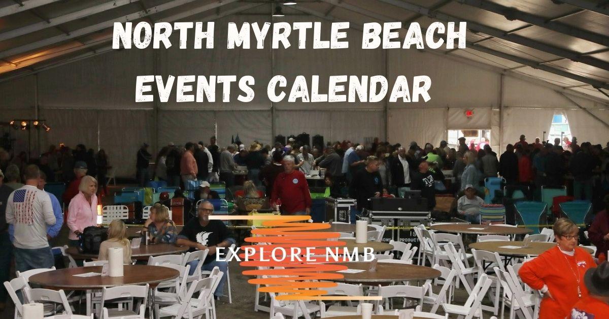 north myrtle beach events calendar